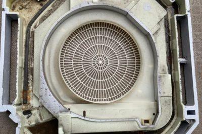 コロナや猛暑に負けるな! エアコン分解洗浄作業 大阪市中央区 D株式会社様